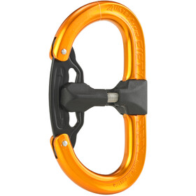 AustriAlpin Fifty-Fifty Autolock Carabiner anodized orange